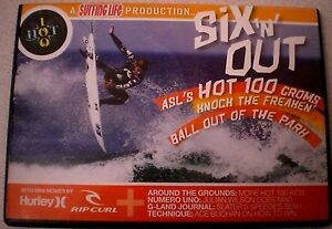 Surfing Life SIX 'N' OUT ASL'S HOT 100 GROMS -  AS NEW  DVD Sport R4 Aust