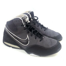 Nike Max Air Spot Up 345000-002 Synthetic Gray Black Sneakers Lace up Size 10