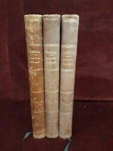ELEMENTI DIRITTO PENALE di ENRICO PESSINA - 3 volumi - NAPOLI 1882/85
