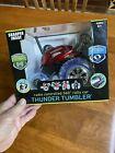 NIB SHARPER IMAGE THUNDER TUMBLER Toy RC Car 360 SPINS Remote Control Monster