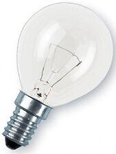 10 X Glühbirne Tropfenlampe OSRAM E14 25w klar
