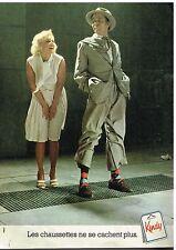 Publicité Advertising 1976 Les chaussettes Kindy