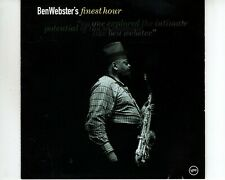CD BEN WEBSTERfinest hourEX  (A3567)