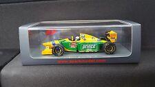 1:43 SPARK BENETTON B193B FORD RICCARDO PATRESE ha 1993 Monaco GP F1 S4773