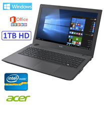 "ORDENADOR PORTATIL GAMA 2018 ACER 15"" INTEL 1 TB HDMI WIFI WINDOWS + OFFICE"
