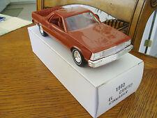 1980 Chevrolet El Camino Cinnabar Promo Mint  with  original  box L@@K Buy Now