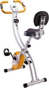 Ultrasport Unisex Advanced Exercise Bike, LCD Display, Foldable Home Trainer PRO