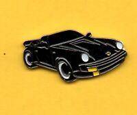 Pin's Pins lapel Pin Auto Car Voiture PORSCHE 911 Noire 1980' Editions Atlas 2