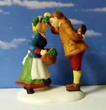Dept 56 New England Village Under The Mistletoe! Kiss, Christmas, Love