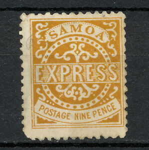 NNAO 151 SAMOA 1877 MNG PERF 11 1/2