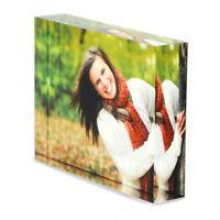 Personalised Custom Acrylic Photo Block Frame