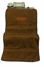 Mud River Single Seat Cover Brown/Orange Hunting Dog Waterfowl Travel New!