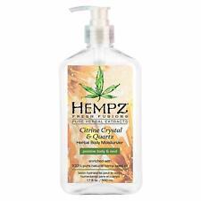 HEMPZ Citrine Crystal & Quartz Herbal Body Moisturizer 500 ml.
