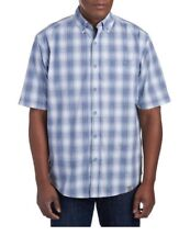 WOLVERINE ridgeline Men's Button Front Shirt Size XXL Plaid Blue NWT