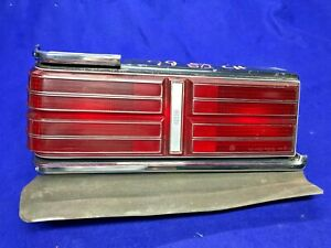1979 Dodge Diplomat 2 Door Coupe LEFT Tail Light Lamp BRIGHT OEM