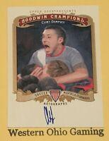2012 Upper Deck Goodwin Champions Clint Dempsey #A-CD Autographed Card Soccer