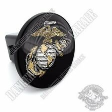 "2"" Tow Hitch Receiver Cover Insert Plug for Truck & SUV - USMC MARINES EAG LT"