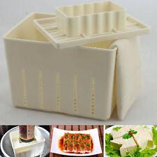 Tofu Maker Press Mold Kit + Cheese Cloth DIY Soy Pressing Mould Kitchen Tool HOT