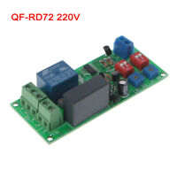 QF-RD72 220V Cycle Delay Timing Timer Relay Switch Module Turn ON/OFF New