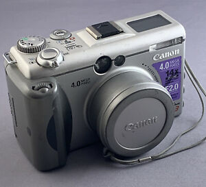 Canon PowerShot G3 4.0 MegaPixel 14x Zoom f2.0 Digital Camera