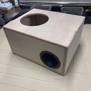 """Skar Audio 10"""" Custom Aero Ported Sub Box VVX-10v3 IVX-10v2 SDR-10 Raw No Carpet"""