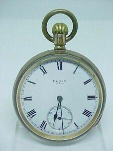 Antique gold filled Victorian Elgin pocket watch 1890s