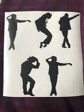 Michael Jackson Vinyl Stickers Car Vehicle Window Decal Cards Silhouette Crafts