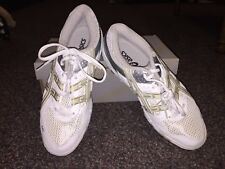 Ladies sneakers size 10 Gel-Rocket White/Silver