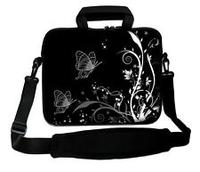 """LUXBURG 14"""" Inches Design Laptop Sleeve With Shoulder Strap & handle #EQ"""