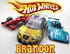 Hot Wheels Tshirt Personalize Birthday custom, gift, car, hot rod truck race