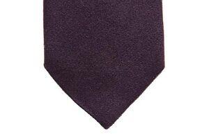 Battisti Tie Dark purple, pure wool
