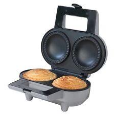 Salter EK1691 Non-Stick Deep Fill Double Pie Maker 1000W