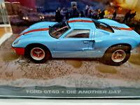 Ford GT40 - 007 La Morte può Attendere - Scala 1:43 - Fabbri 007 - Nuova