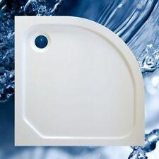 Duschbecken 900x900 mm bzw. 90x90 cm, R 550, Viertelkreis, flach