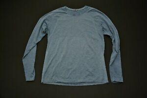 Lululemon Blue Shirt Men's Large L Long Sleeve