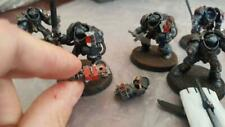5x magnetised Grey Knight Terminators with Draigo and Terminator Librarian