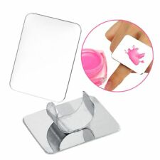 New Stainless Steel Palette Ring Nail Art Cosmetic Mixing Paint Manicure Tool