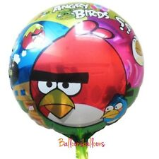 "Angry Birds 18"" Round Party Balloon Helium Birthday Game"