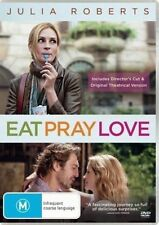 Eat Pray Love DVD SELF-DISCOVERY Julia Roberts ITALY INDIA BALI BRAND NEW R4