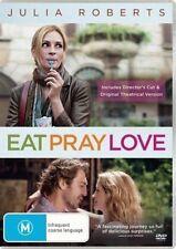 Eat Pray Love DVD SELF-DISCOVERY Julia Roberts ITALY INDIA BALI BRAND NEW R4