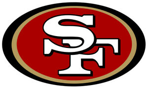 San Francisco 49ers Vinyl Decal / Sticker 10 sizes! Free Shipping with Tracking!