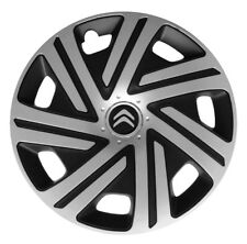 4x15'' Wheel trims Hub caps for Citroen Berlingo 15'' new full set black/silver