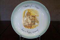 Holly Hobbie Collector's Edition Plate - Made in U.S.A. 1972 *Nothing lasts ...*