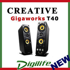 Creative Gigaworks T40 Series II Stereo Speakers 32 Watts 2 channels