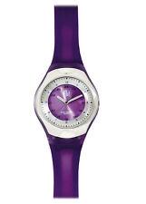 Prestige Medical Scrub Quartz Watch Purple Cyber Gel Water Resistant New