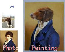 Pet Portrait,Custom Oil Portrait,Hand Painted Oil Painting,Pet painting