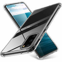Samsung Galaxy S20/S20+ Plus/S20 Ultra Clear TPU Case Bumper Shockproof Cover