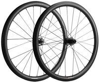 700C 38mm 31mm Gravel Bike Wheels Disc Brake Carbon Wheelset Tubeless Cyclocross