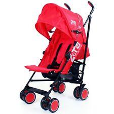 Zeta CiTi Stroller - Warm Red From Birth