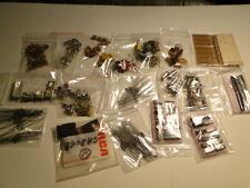Mixed Lot/Grab Bag Electronic Transistors, Ic Chips. Crystals, Diodes, Resistors